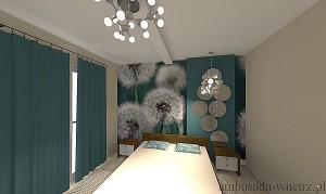 Wizualizacja wnętrza Sypialnia