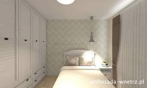 Mieszkanie w stylu vintage Sypialnia
